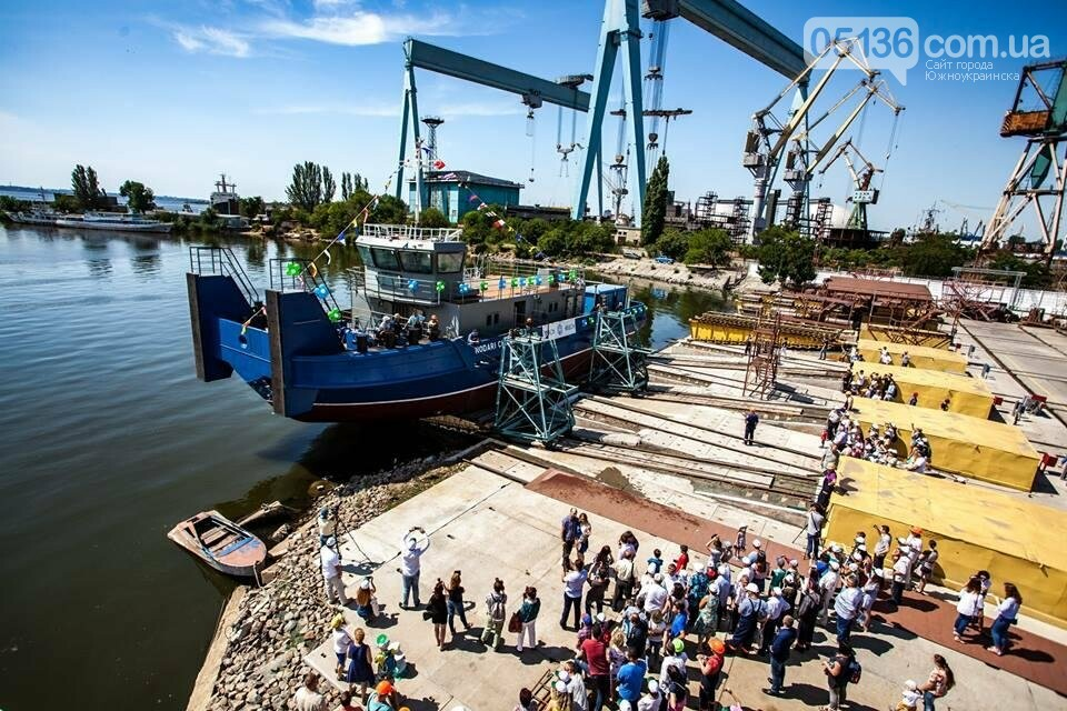"""Нибулон"" спустил на воду третий буксир нового поколения (фото), фото-2"